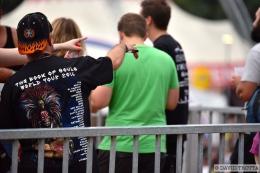 Eddie, la mascotte d'Iron Maiden, a déferlé sur le Paléo Festival. © David Trotta