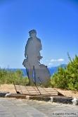 A Pollara, sur l'île de Salina, hommage au film Il Postino, dont l'intrigue se déroule très majoritairement dans le village de pêcheurs. © David Trotta
