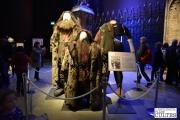 Il a fallu être ingénieux pour donner sa grandeur au garde-chasse Rubeus Hagrid durant toute la saga. Pour maintenir l'illusion, c'est souvent un rugbyman qui se cachait sous le costume. © David Trotta