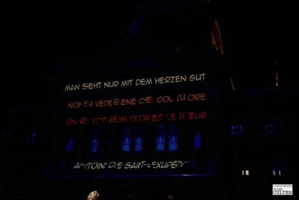"""Spectacle """"Le Petit Prince"""" sur la Place Fédérale, Berne"""