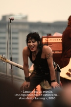 Joan Jett. Wikimedia commons
