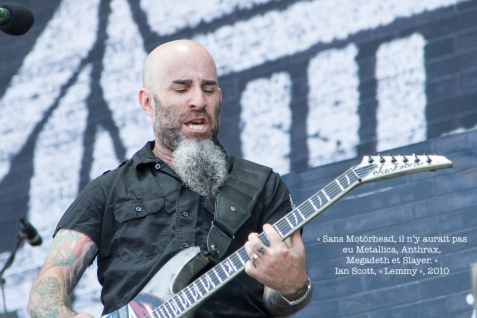 Scott Ian. Wikimedia commons