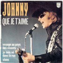Souvent cité pour son mauvais français hurlé tout au long du refrain, Que je t'aime est aussi l'un des morceaux les plus célèbres de Johnny Hallyday, sorti le 23 juin 1969.