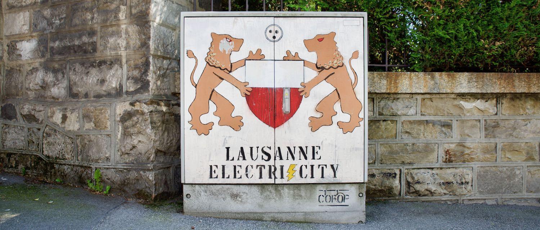 Lausanne électrique bandeau