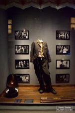 Le seul costume qu'aurait gardé Charlie Chaplin. © David Trotta