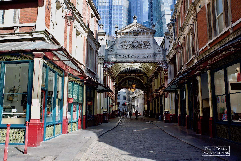 Leadenhall Market, Londres  © DavidTrotta