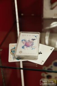 Un jeu de cartes à l'image de l'album Innuendo, dernier album de Queen sorti du vivant de Freddie Mercury, en 1991 © David Trotta