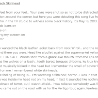 Kanye West - Black Skinhead